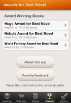Hugo Nebula Award Lists